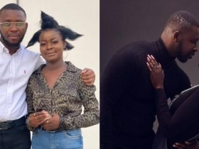 Fatima and Bismark from Date Rush take shake social media with their 'Odo Yɛ Dɛ' photos [See]