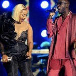 Watch: Nana Ama Mcbrown performs with her ex, Okyeame Kwame at #VGMA22