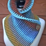 Sassy Autumn Ribbed Cowl Free Crochet Pattern with Video Tutorials