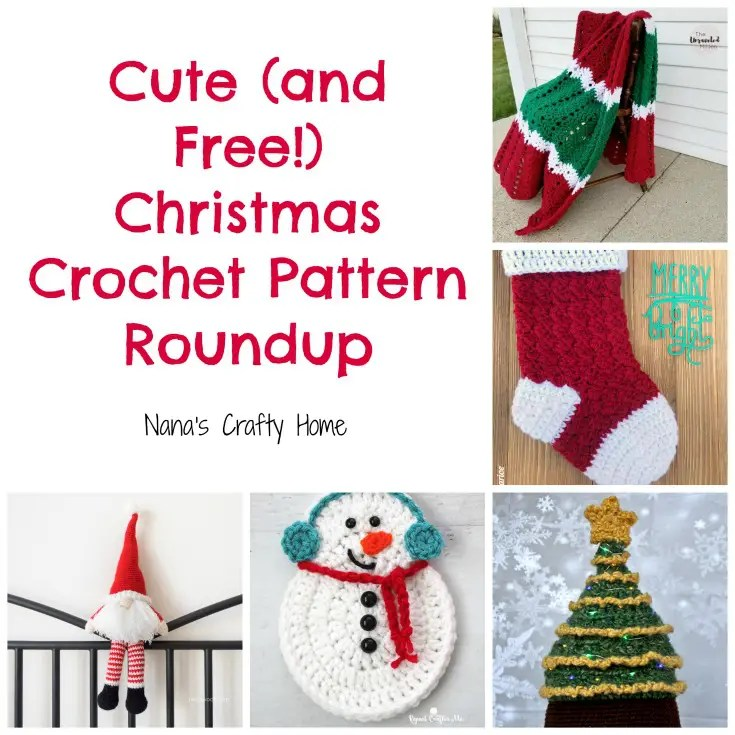 Christmas crochet free pattern roundup