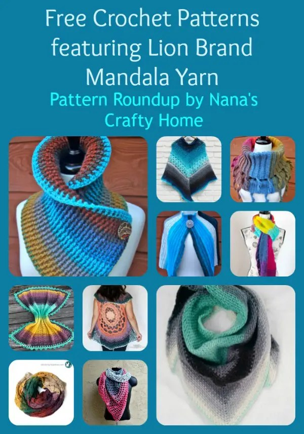 Crochet Pattern Roundup Featuring Lion Brand Mandala Yarn Amazing Mandala Yarn Patterns