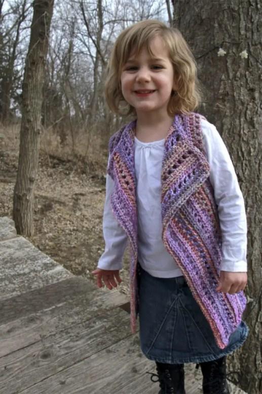 Brandywine Falls Vest Child Size 2/4 T