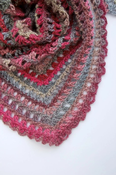 Candy Kisses Scarf free crochet pattern