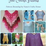 Summer Poncho Free Crochet Pattern Roundup