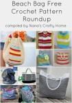Summer Beach Bag Free Crochet Pattern Roundup