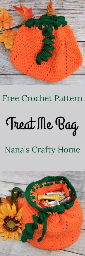 Treat Me Bag Free Crochet Pattern