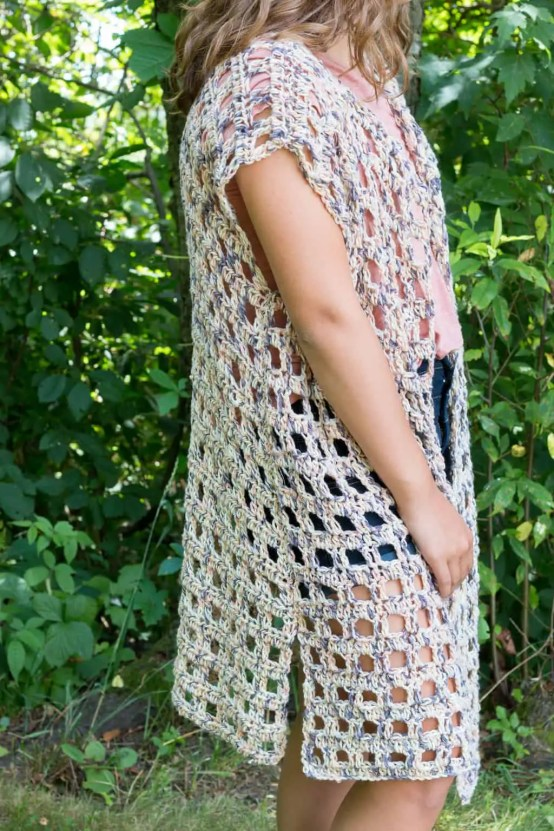 Mara Kimono a free crochet pattern by Rescued Paw Designs