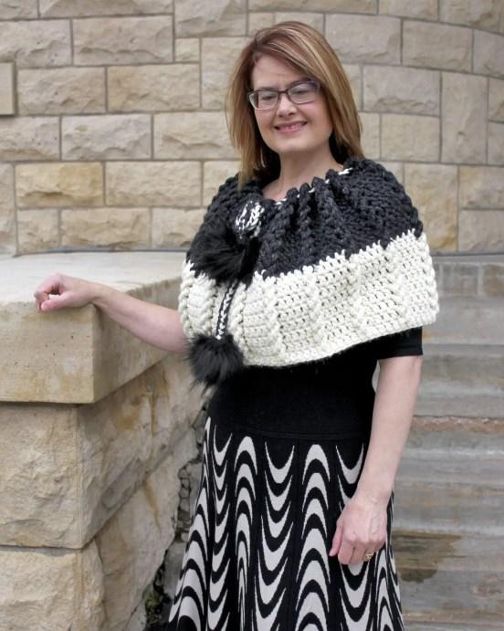Bewitching Braids Cape a free crochet pattern