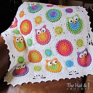 Owl Obsession Blanket by The Hat & I