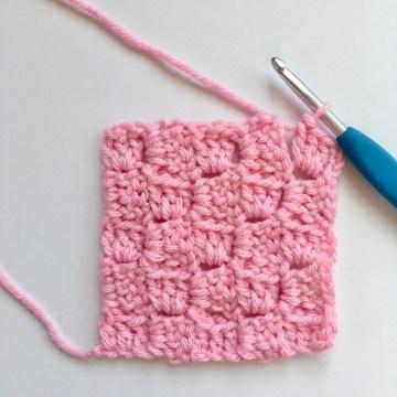 C2C Corner to Corner Crochet Stitch Photo and Video Tutorial