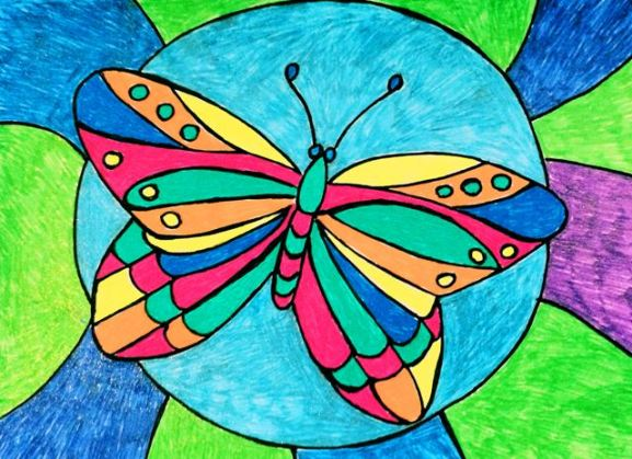 butterfly-in-circle