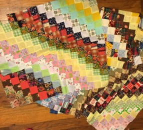 postage stamp squares