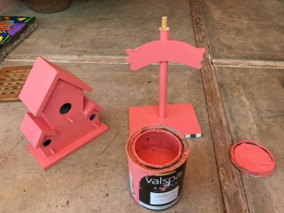 pink paint