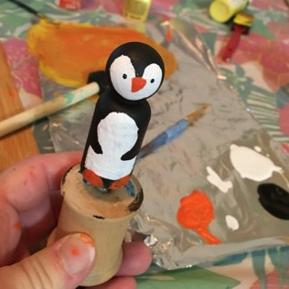penguin in progress