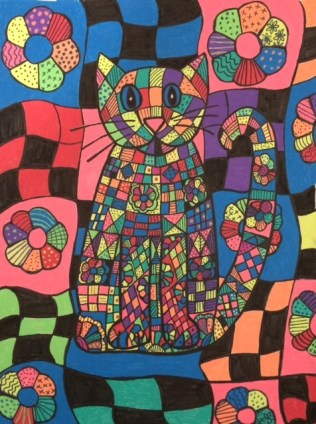 Calico Cat Finished