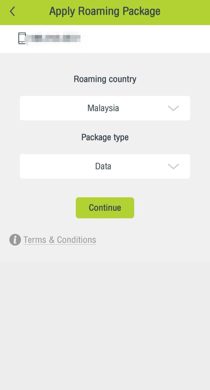 タイ隣国用パッケージ「Border Countries」アプリ購入方法9