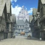 MMORPG風の町