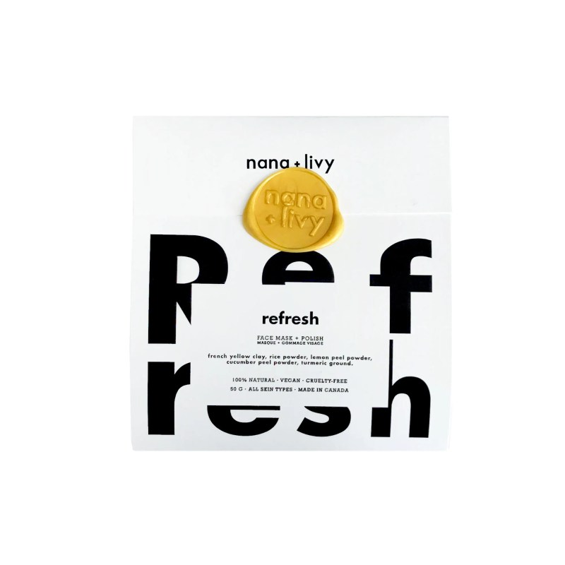 Refresh Face Mask + Polish