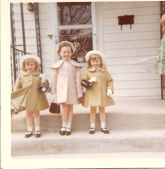 Jakiela Girls Easter 1964