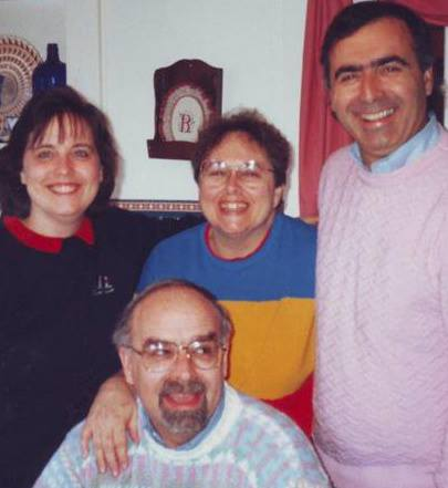 Their children - Loisanne, Judy, Jack and Jim (front)