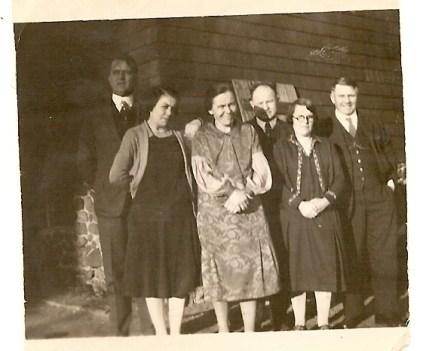 Paul, Mary, Julianna, Konrad, Lizzie and Ben