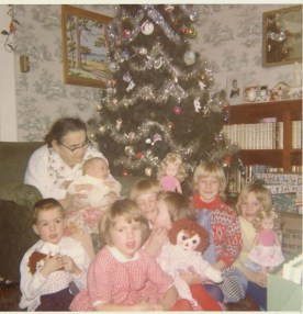 Christmas 1966 (2 months before she died)