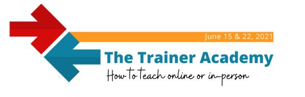 Trainer Academy banner