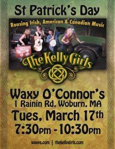 Waxy O'Connor's Pub Mar17