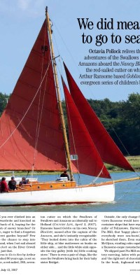 Country Life Swallows and Amazons 12 Jul 2017 page 1