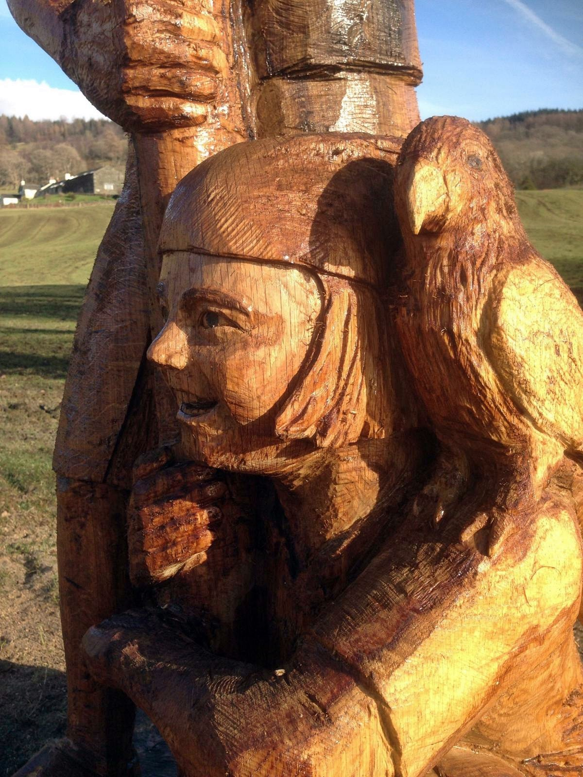 Daryl fryers chainsaw carvings home facebook