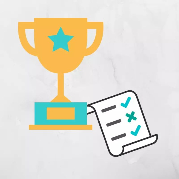 trophy and checklist for SEO Champions Checklist