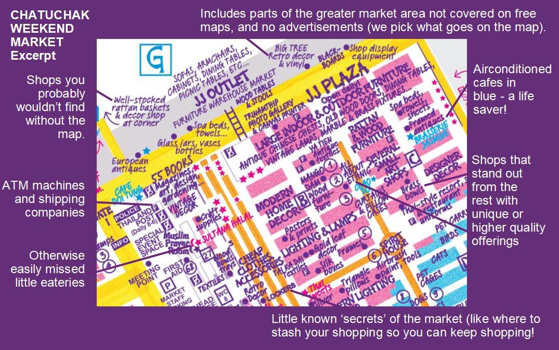 Nancy Chandlers Map Of Chatuchak Weekend Market