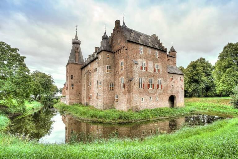 kastelen, kasteel Doorwerth,stoer