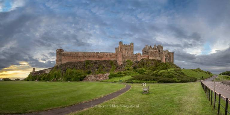 schotland, reizen, vakantie, landschappen, bamburgh-castle