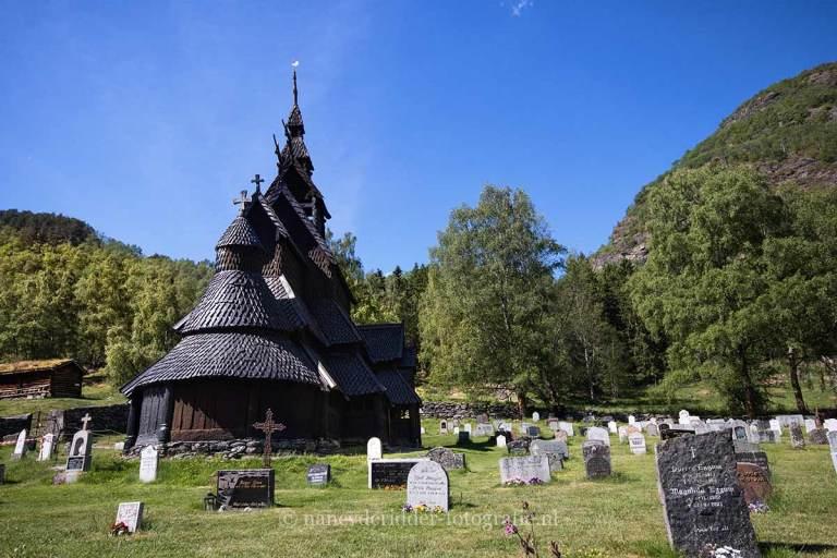Noorwegen, fjorden, reizen, Borgund-Stave-church