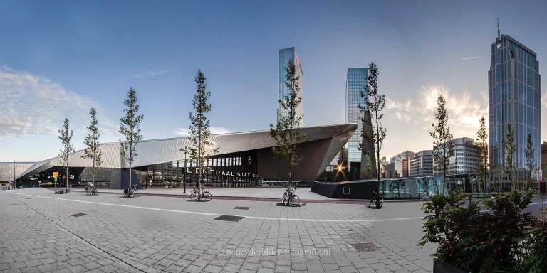 Steden, rotterdam, centraal-station