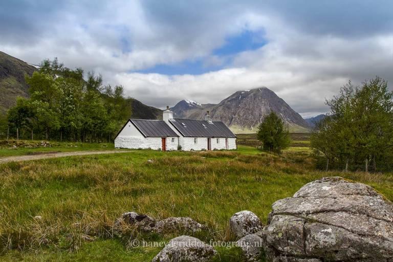 schotland, reizen, vakantie, landschappen, black-rock-cottage