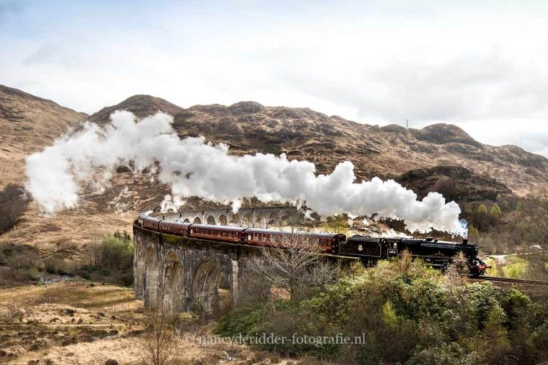 schotland, reizen, vakantie, landschappen, harry-potter- trein