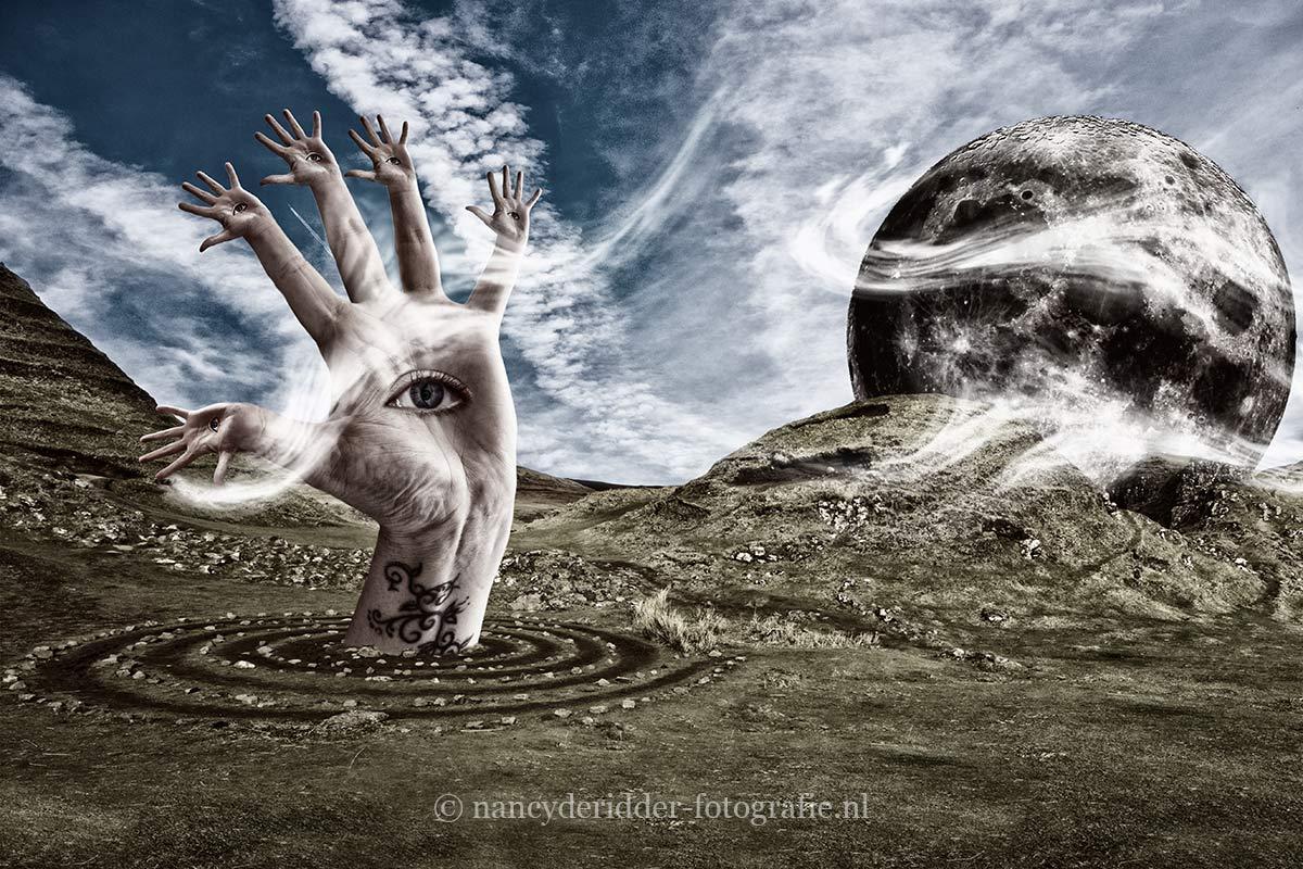 Bewerkingen, fantasie foto's, foto-manipulaties