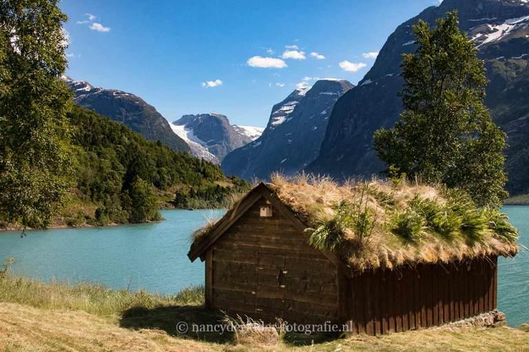 Noorwegen, fjorden, reizen, Lovatnet