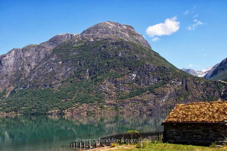 Noorwegen, fjorden, reizen, jostedalsbreen-oppstrynsvatnet
