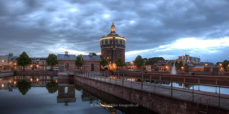 Steden, rotterdam, watertoren