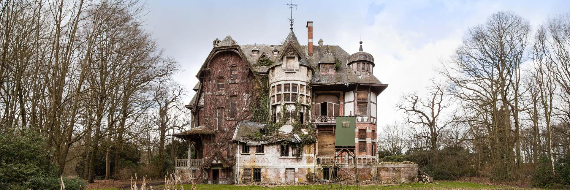 Chateau Nottebohm, urbex, verlaten kasteel
