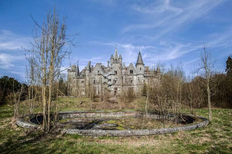 Chateau de Noisy, verlaten kasteel, urbex