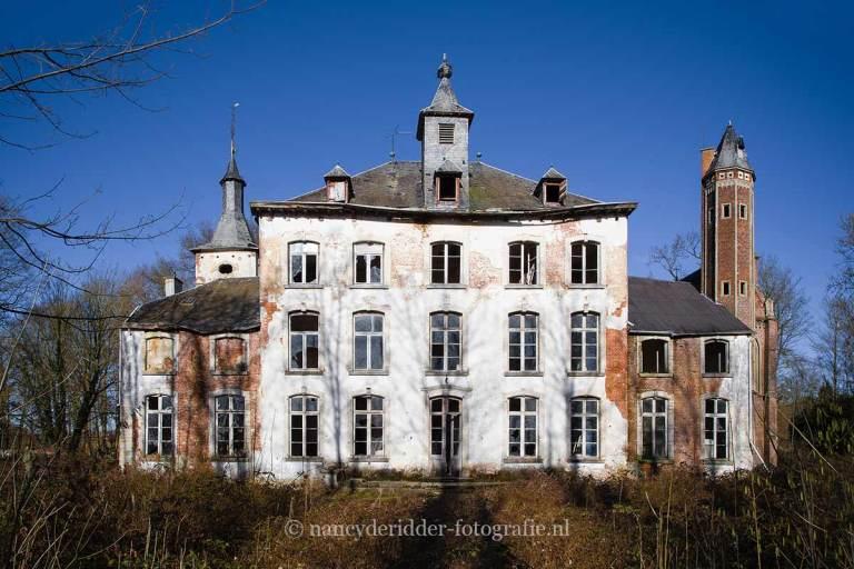 chateau hogemeijer, urbexlocatie, vervallen kasteel