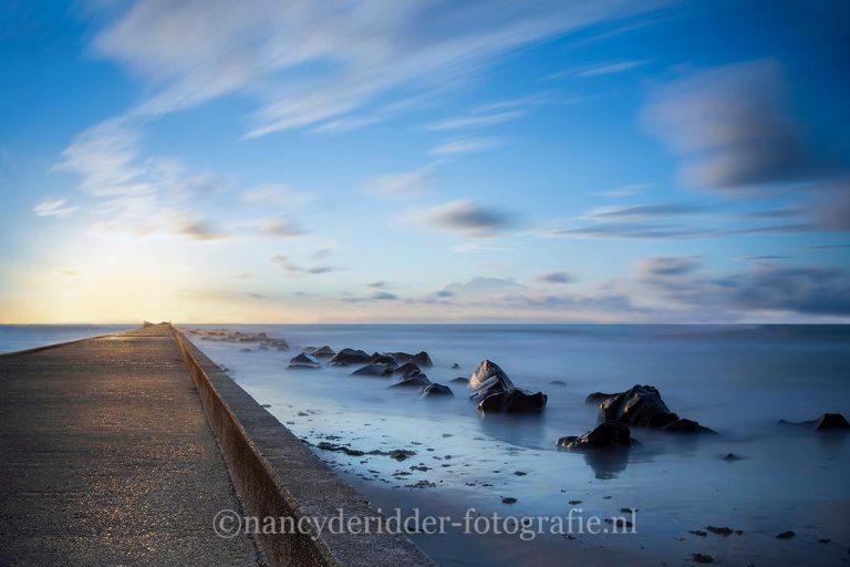 zonsondergang, sunset, Hoek-van-Holland