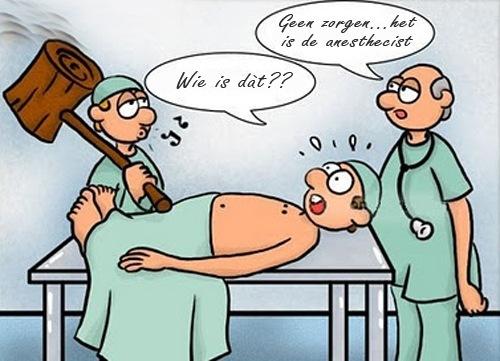 anesthesist, verdoving, narcose