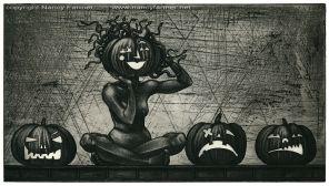 'Medusa and the Pumpkins'