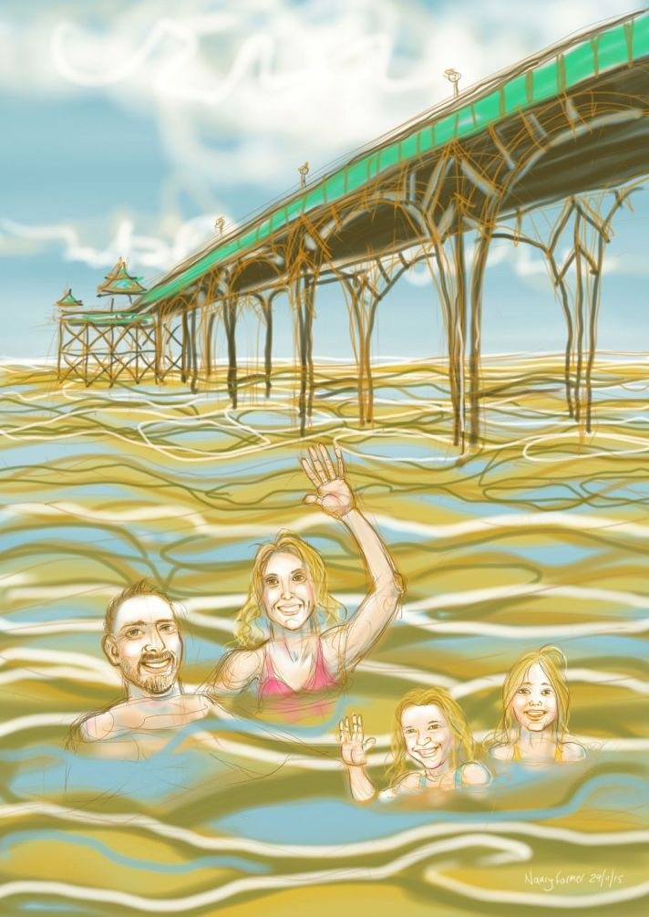 'At Clevedon'