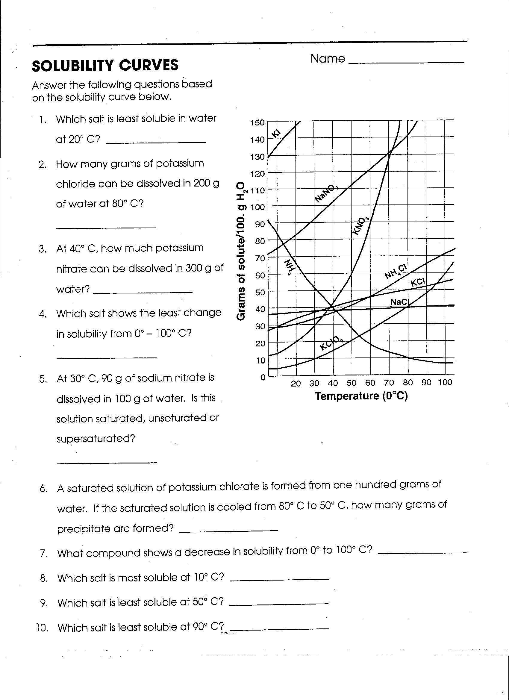 Worksheet Introduction To Chemistry Worksheet Answers